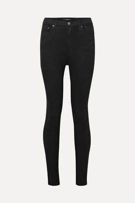GRLFRND Kendall High-rise Skinny Jeans - Black