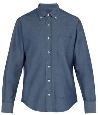 President's - Chambray Cotton Shirt - Mens - Indigo