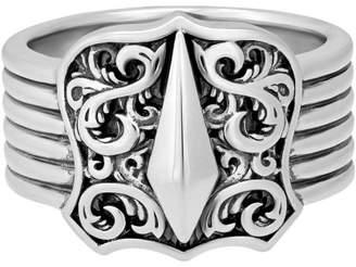 Stephen Webster 925 Sterling Silver Highwayman Shield Ring Size 10