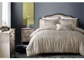 Hotel Collection California Design Den Luxury Bedding Comforter Full Queen, Hotel Paisley Luxe 4-Piece Royal Taupe Comforter Sets Queen