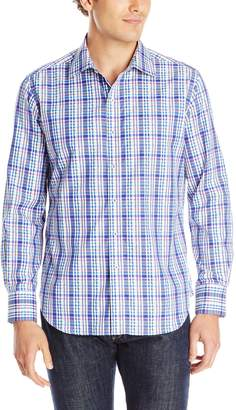 Robert Graham Men's Bowfin Long Sleeve Button Down Shirt