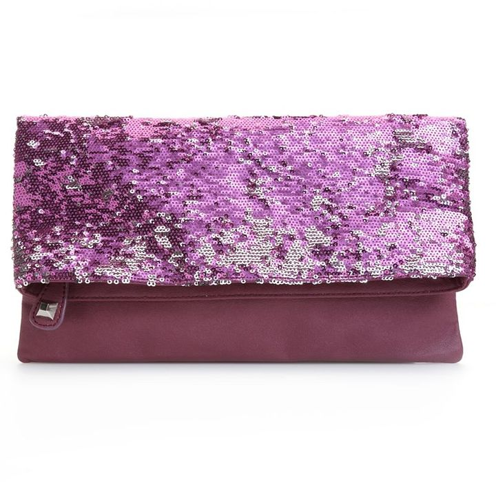 BCBGeneration Handbag, Molly Sequined Clutch