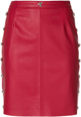 John Richmond fitted mini skirt