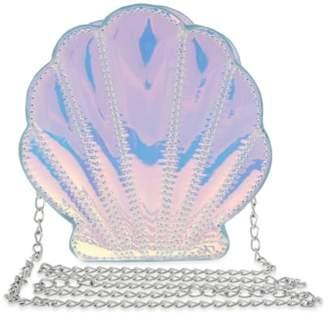 Capelli New York Iridescent Seashell Shoulder Bag