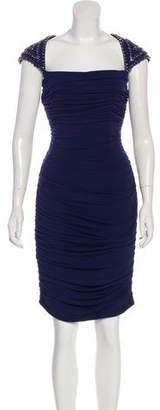 Jovani Embellished Knee-Length Dress w/ Tags