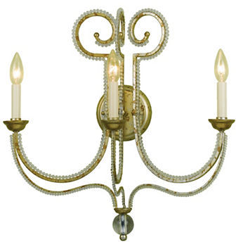 AF Lighting Af Lighting Camerson Three-Light Wall Sconce