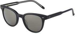 Garrett Leight Angelus 47 Round Acetate Sunglasses