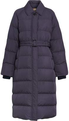 Burberry Belted Long Down-filled Puffer Coat