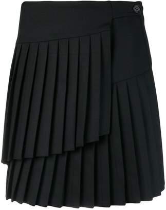 P.A.R.O.S.H. pleated mini skirt