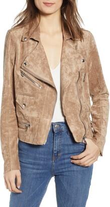 Blank NYC BLANKNYC Faux Suede Moto Jacket