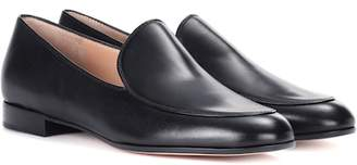 Gianvito Rossi Marcel leather loafers