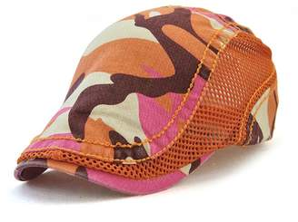 Gudessly Men's Cotton Flat Beret Cap Duckbill Hat Newsboy Ivy Irish Cabbie Scally Cap