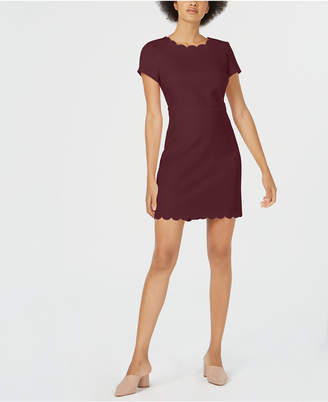 Maison Jules Scalloped Sheath Dress, Created for Macy's