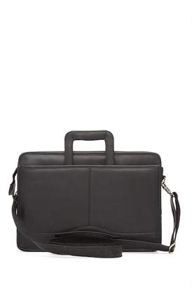 David King & CO Single Leather Gusset Drop Handle Bag