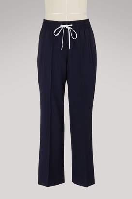 Miu Miu Stretch cropped trousers