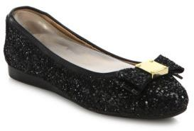 Cole Haan Tali Bow Glitter Ballet Flats $180 thestylecure.com