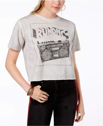 Bravado Juniors' Cotton Run Dmc Graphic-Print T-Shirt