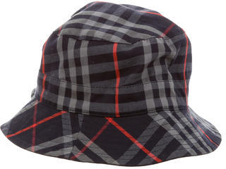 Burberry  Burberry Nova Check Reversible Bucket Hat