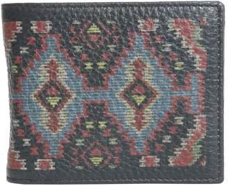 Etro Textured Leather Wallet