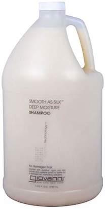 Giovanni COSMETICS- Eco Chic Smooth As Silk Shampoo- Deep Moisture For Damaged Hair (128 Fl. Ounce)