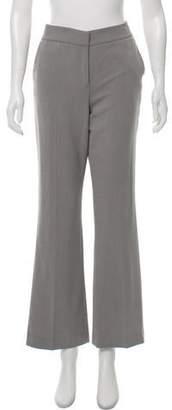 Calvin Klein Mid-Rise Wide-Leg Pants