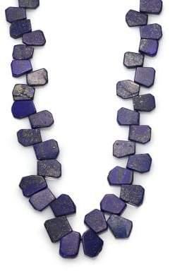 Nest Lapis Cluster Long Necklace