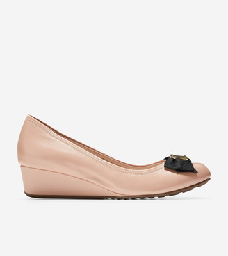 Cole Haan Tali Soft Bow Wedge (40mm)