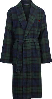 Ralph Lauren Black Watch Flannel Robe