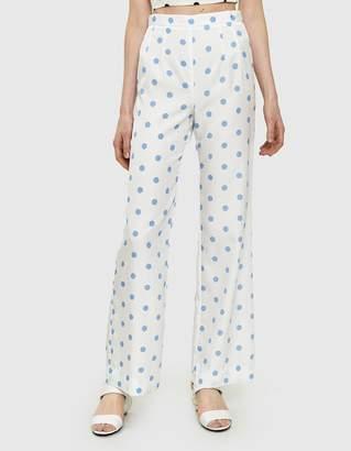 Maryam Nassir Zadeh Serra Polka Dot Trousers