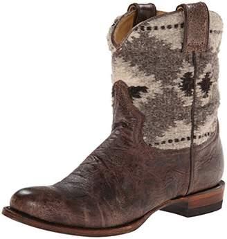 Stetson Women's Serape Round Toe Ankle Boot