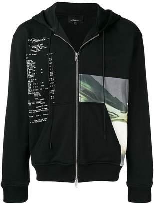 3.1 Phillip Lim printed hoodie