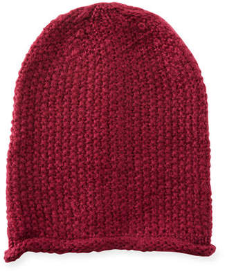 Rebecca Minkoff Simple Solid Slouchy Beanie Hat