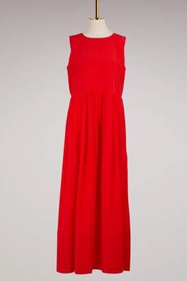 Jil Sander Emphaty silk maxi dress
