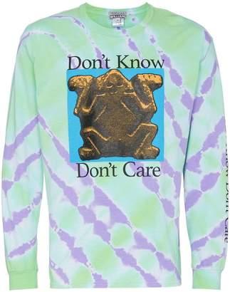 Ashley Williams Don't Know Tie Dye Cotton T-Shirt