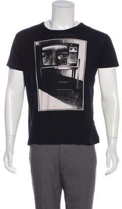 Saint Laurent 2015 Bruce Conner 'The Late Night' Graphic T-Shirt