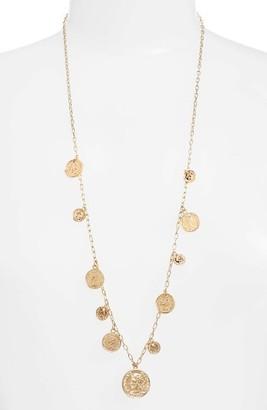 Women's Ettika Coin Charm Necklace $40 thestylecure.com