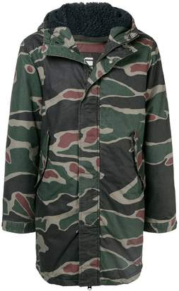 G Star Research hooded military jacket