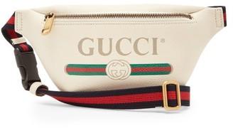 Gucci Vintage Logo Cross Body Bag - Mens - White