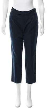 Comptoir des Cotonniers Mid-Rise Straight Leg Pants
