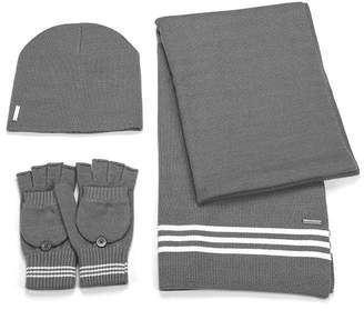 Soia & Kyo Clary 3-Piece Hat, Gloves & Scarf Set - Ash