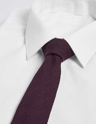 Marks and Spencer Wool Rich Tie