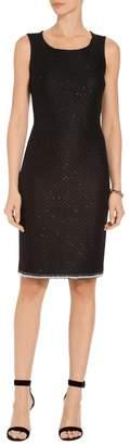 St. John Alla Knit Sheath Dress