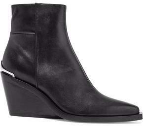Rag & Bone Santiago Leather Wedge Ankle Boots
