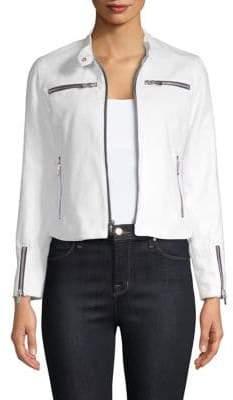 Cropped Zip Jacket