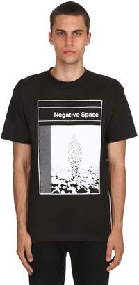 Negative Underwear Space Cotton Jersey T-Shirt