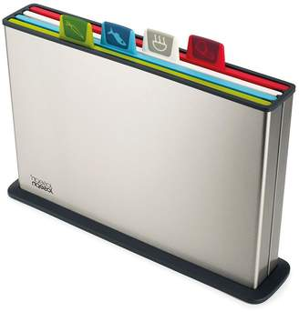Joseph Joseph Index Coloured Chopping Board Set Regular Steel