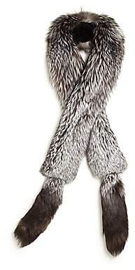 The Fur Salon Women's Fox Fur Boa Scarf