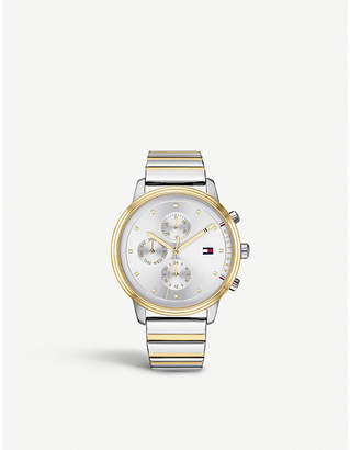 Tommy Hilfiger 1781909 Blake gold-plated and stainless steel watch
