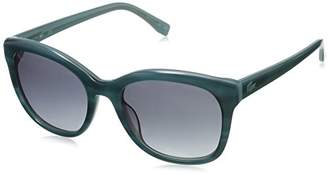 Lacoste Women's L819s Stripes and Piping Cateye Sunglasses