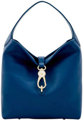 Dooney & Bourke Belvedere Logo Lock Shoulder Bag